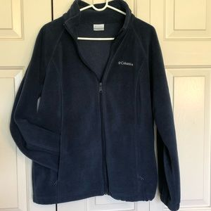 NWOT Navy Blue Columbia Fleece